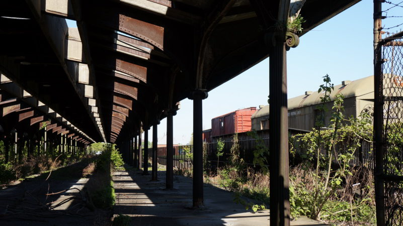 Jersey City Terminal Train Shed – Central Railroad of New Jersey