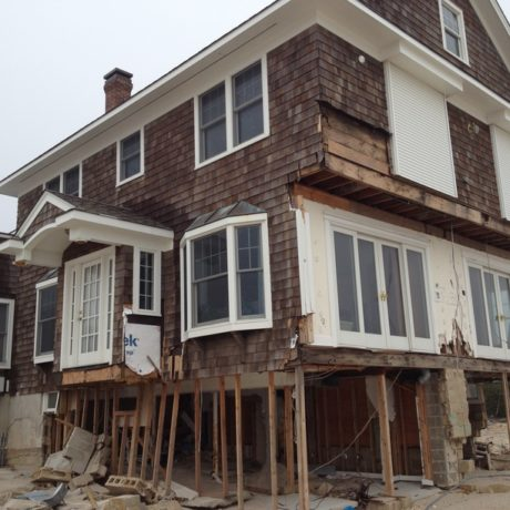 Mantoloking Property Damaged by Hurricane Sandy