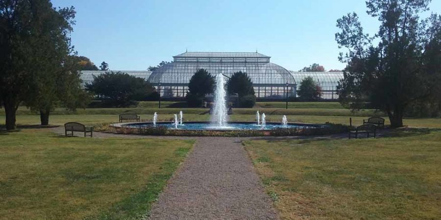 Trumbauer/Abele Greenhouse Complex at Duke Farms